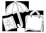 Tisk na platno, delovna oblačila, dežnike in ostali tekstil