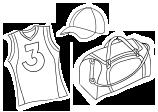 Tisk na drese in športne artikle, majice in športne hlače