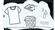 Vzdrževanje potiskanih izdelkov iz platna in ostalih potiskanih tekstilnih izdelkov