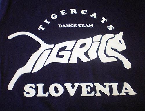 Tisk na drese – Tigrice Slovenija