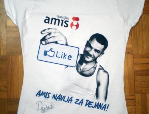 tisk na majice – amis